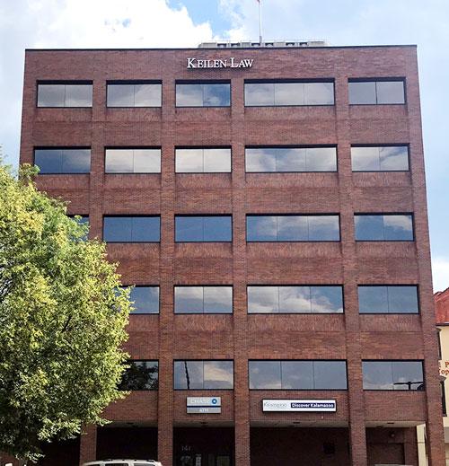 keilen law kalamazoo office building exterior